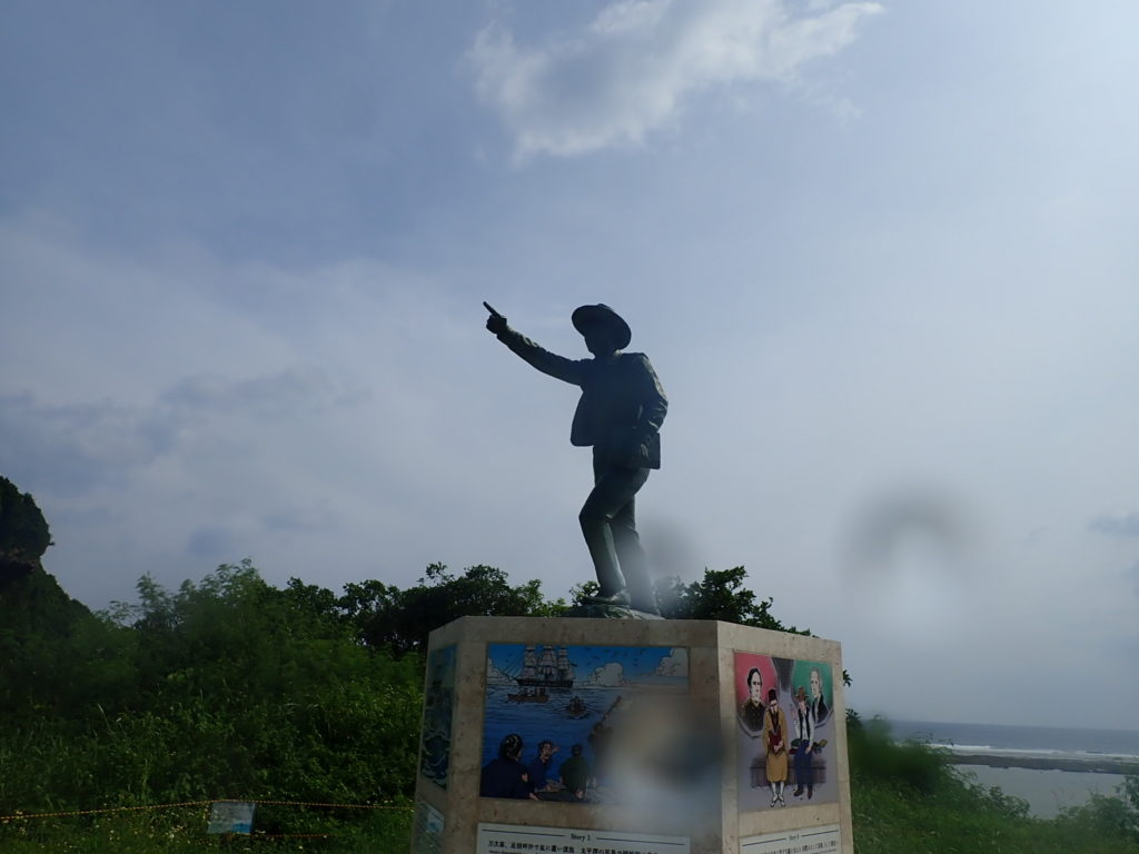 ジョン万次郎の銅像