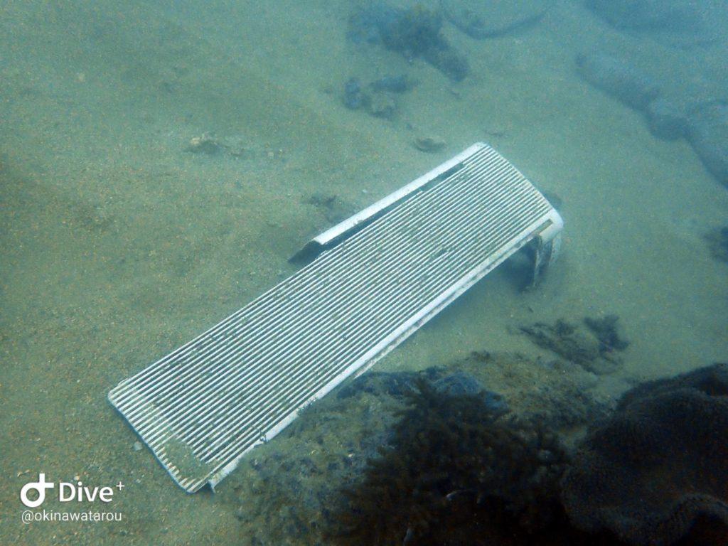 海中のゴミ